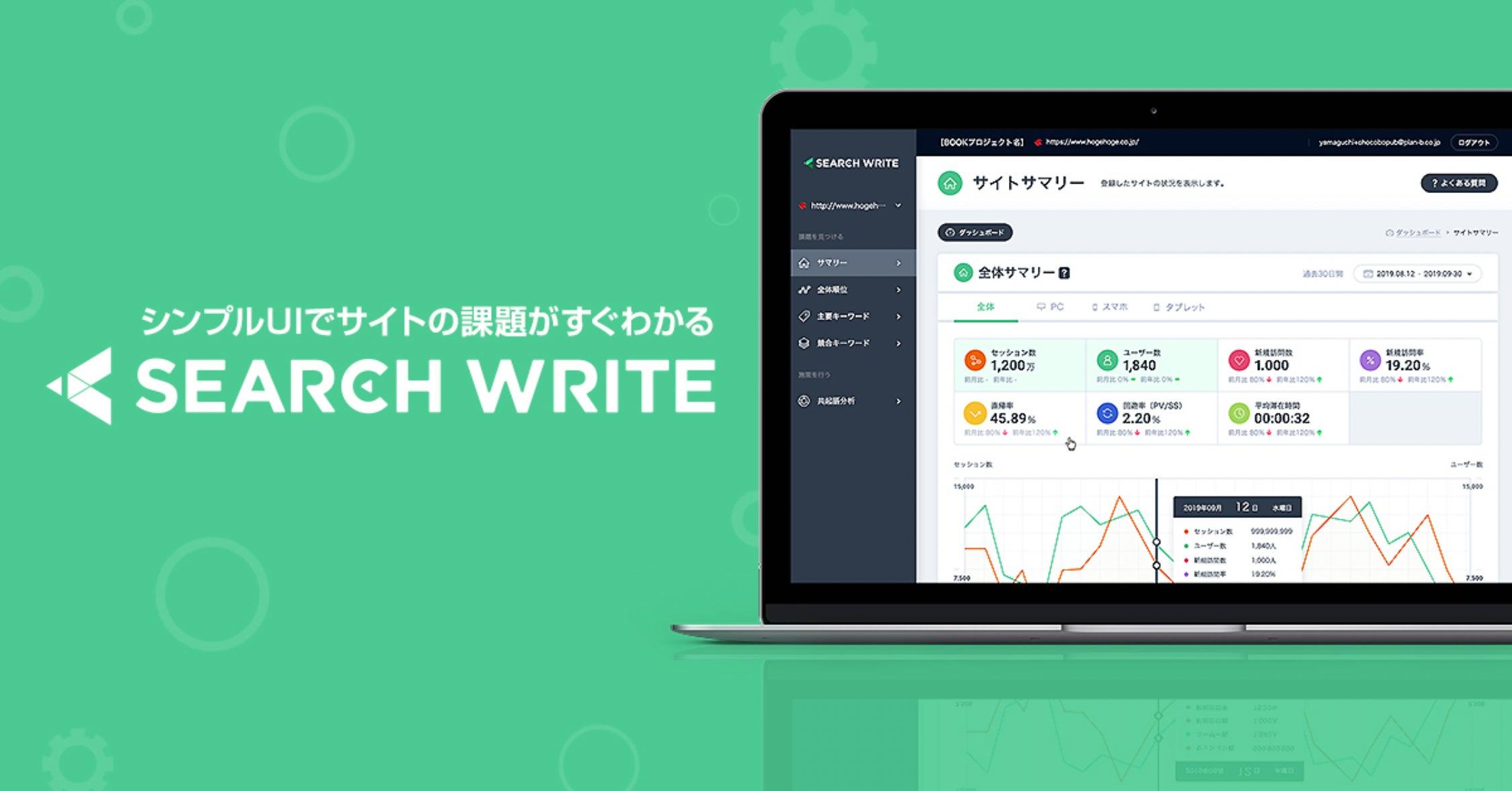 SEARCHWRITEのイメージ